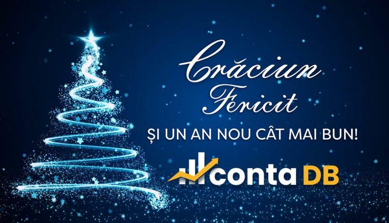 Crăciun Fericit şi un An Nou plin de succes